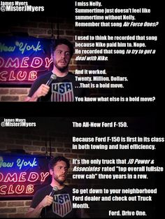 #JamesMyers, #comedian, #comedy, #funny, #StandUp, #Jokes, #fun, #comic, #lol, #joke, #humor