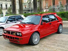 Lancia Delta Integrale Evo, one of my favorite cars, and one of the most winning rally racing machines of all time. Sexy Cars, Hot Cars, Maserati, Retro Cars, Vintage Cars, Supercars, Automobile, Nissan Sunny, Lancia Delta