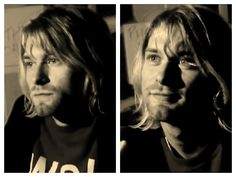 Kurt Cobain  #NIRVANA [Kurt Cobain, Krist Novoselic, Dave Grohl]
