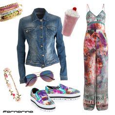Fornarina styling tips #fornarina #myFornarina #stylingtips #lookidea #fashion #flowerpower #spring #coachella