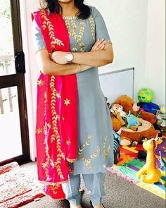 Colors & Crafts Boutique™ offers unique apparel and jewelry to women who value versatility, style and comfort. For inquiries: Call/Text/Whatsapp Punjabi Salwar Suits, Designer Punjabi Suits, Punjabi Dress, Indian Designer Wear, Salwar Kameez, Churidar Suits, Patiala Salwar, Red Lehenga, Lehenga Choli