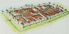 Roman Castrum - 'Legio Prima Martia' Swizerland
