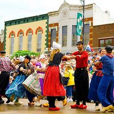 Tulip Time, Pella, IA (45 mi. SE of Des Moines) During Mother's Day weekend, more than 150,000 visitors will come to toast Pella's Dutch heritage—and to be dazzled by 300,000 tulips blooming in red, pink, purple, yellow, coral and white. May 3-5, 2012 (641/628-4311; pellatuliptime.com).