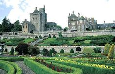 Drummond Castle, Perthshire, Scotland. I am actually a descandant of the Drummond Clan