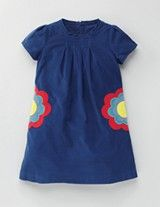 Mini Boden: Cord dress with pockets. The pockets are under the flowers!