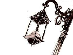 lamp posts are simply gorgeous to me.