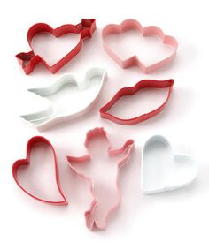 Take a look at this R 7-Piece Valentine Cookie Cutter Set by Valentine Kitchen Collection on #zulily today!