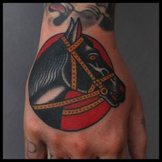 Tony Nilsson as featured on Swallows & Daggers. www.swallowsndaggers.net #tattoo #tattoos #horses