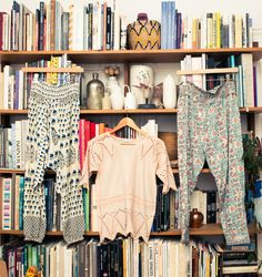 """""""Where to begin… I clearly [collect] books: art books, fashion books, history books, gardening books, cookbooks, piles of novels and children's books and magazines."""" http://www.thecoveteur.com/ulla-johnson-designer/"""