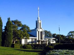 Click to enlarge this image of the Sydney Australia Mormon Temple
