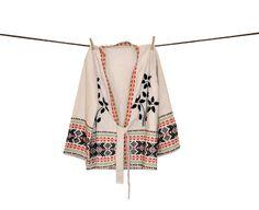 Vintage Boho Kimono Cardigan Sweater wrap Tribal by IndieClothCo