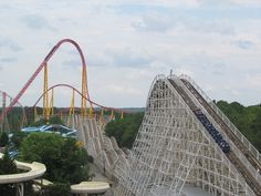 Rebel Yell Kings Dominion| The Intimidator 305 in the background!