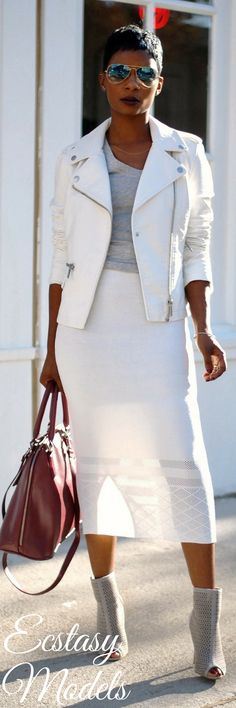 White After Labor Day // Fashion Look by LaShaundra
