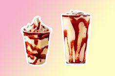 O Burger King se superou e criou um milk-shake Romeu & Julieta
