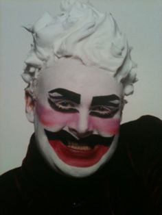 Leigh Bowery, Halloween Face Makeup, Make Up, Fictional Characters, Image, Beauty, Masks, Fan, Classic