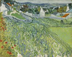 Vineyards at Auvers (June 1890) / by Vincent van Gogh