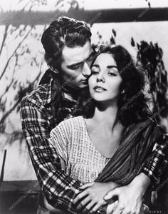 photo Jennifer Jones Gregory Peck portrait western film Duel in the Sun 2858-30