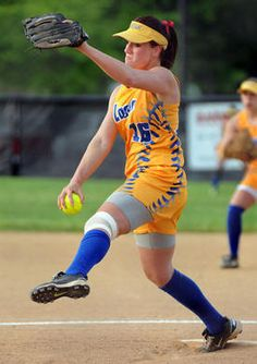 Love these softball uniforms!! maybe in a different colour but I love the style