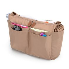 Turns any purse into a diaper bag. This insert is machine washable and will protect your purse from any spills etc.