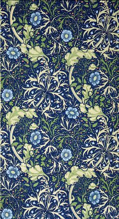 New Ideas Wall Paper Dark Pattern William Morris William Morris Wallpaper, William Morris Art, Morris Wallpapers, Art Nouveau, Art Deco, William Morris Patterns, Motif Floral, Arts And Crafts Movement, Of Wallpaper