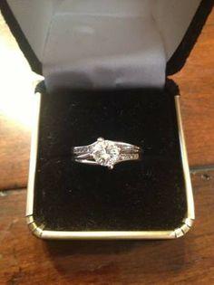 Beautiful High Quality 3/4 Carat Diamond Ring - $1000