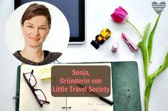 Sonja Alefi, Gründerin von Little Travel Society