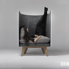 Ukrainian design bureau creates bold, geometric furniture inspired by industrial design, adding a new piece to their collection once a fortnight. Geometric Furniture, Funky Furniture, Design Furniture, Contemporary Furniture, Chair Design, Lounge Suites, Sofa Chair, Armchair, Cave Chair