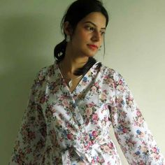Real life Sample 1 - Bridesmaids Robes made From AA10 Fabric Pattern