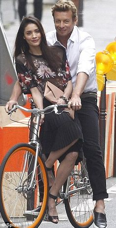 Filming in France: The Hollywood hunk was filming a new campaign for Givenchy in Paris during the week