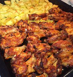 Güzel akşamlar 😊 gelsinn mi bizim evin en sevilen yemeği 😄 siz bıktınız tavuk fotosundan biz yemekten bıkmadık 😄 Deneyen herkesin tam puan verdiği Tavuğu en sade hallerinden biriyle yapıyoruz. SU KOYMUYORUZ PİSİYOR MERAK ETMEYİN 😇 VE TAVUKLARI ÖNCEDEN HAŞLAMIYORUZ YİNE PİSİYOR MERAK ETMEYİN 😇 VE TAVUK VE PATATES AYNI ANDA YİNE PİSİYOR YİNE MERAK ETMEYİN 😇 😘 1 dis sarımsak 1 kaşık biber salçasi 2 kaşık kadar sıvı yağ 4 5 kaşık su sosa kıvam vermek için koyuyoruz Pul biber Kırm...