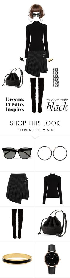 """""""Monochrome Black...Monochrome: All Black Everything"""" by beleev ❤ liked on Polyvore featuring Victoria Beckham, Ana Accessories, McQ by Alexander McQueen, Misha Nonoo, Christian Louboutin, LC Lauren Conrad, Halcyon Days, Topshop, allblack and polyvorecontest"""