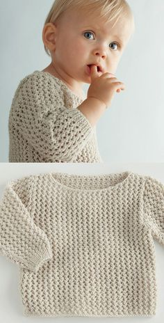 A soft spring sweater for baby   We Know How To Do It
