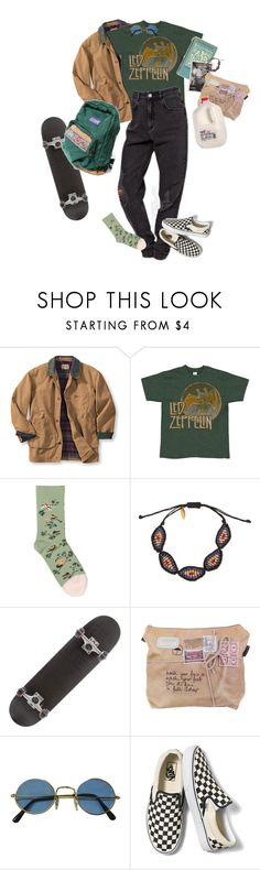 """wannabe"" by kampow ❤ liked on Polyvore featuring Bonne Maison, Zayiana and Vans"