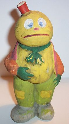 Vintage German Veggie Man c/c