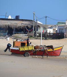 Pescadores. Punta del Diablo, Uruguay.