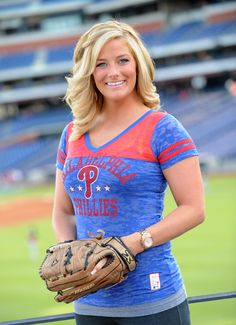 Philadelphia Phillies Ballgirl Coop II Burnout Tee- on sale now!