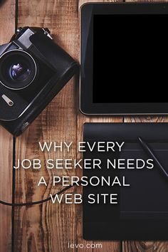 Employers want to get to know you... Let your personal website say what your resume can't.