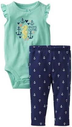 Carter's Baby Girls' 2 Piece Jersey Bodysuit and Pants (Baby) - Anchor - 6 Months Carter's http://www.amazon.com/dp/B00HAXXP16/ref=cm_sw_r_pi_dp_A-1Utb04FPSFZ1D5
