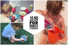 10 FREE Toys for Babies and Toddlers - no cost toys - cheap toys for babies and toddlers and kids #toys #free