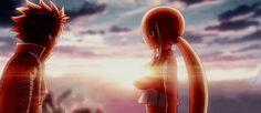 "ianime0: """" Fairy Tail Dragon Cry | Natsu and Lucy "" """