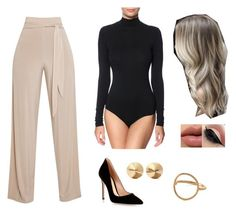 """""""Untitled #46"""" by amanda-nielsen on Polyvore featuring Gianvito Rossi, Eddie Borgo and Pernille Corydon"""