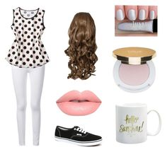 """""""If Olaf were a girl...and human"""" by cms06611 ❤ liked on Polyvore"""