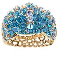 @FrancenePerel: #Peacock Passion! Jeweled Ring.