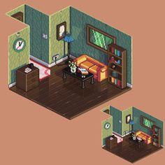 8-Bit interior | Apartment design