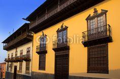 Casa de los Balcones house La Orotava Tenerife Wall Decal