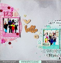 Aurora's Land: New Layout Using The April Hip Kit Club Kits + Process Video! Aurora's Land: New Layout Using The April Hip Kit Club Kits + Process Video! Photo Layouts, Page Layout, Scrapbooking Layouts, Scrapbook Pages, Solar Licht, Hip Kit Club, Photo Sketch, Happy Thursday, American Crafts