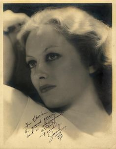 Joan Crawford rare signed oversize photograph by Hurrell ins