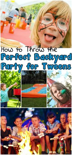 Perfect backyard party for tweens? Oh, yeah, I totally need this how-to! #H2OGO! #ad