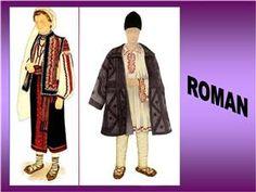 Costum popular zona  Roman Roman, Kimono Top, Costumes, Popular, Blouse, 1 Decembrie, Tops, Dresses, Traditional