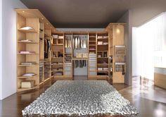 Aménagement, modèle ESPACE décor chêne naturel